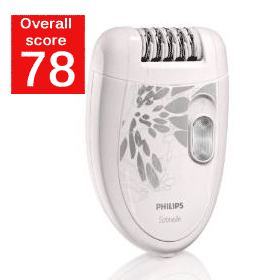 Philips HP6401 Satinelle Epilator Review Score
