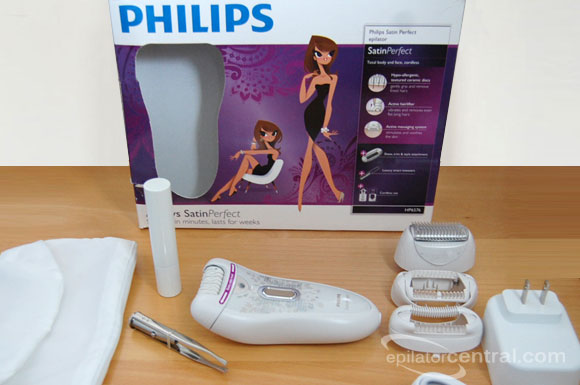 Philips HP6576 Satin Perfect Epilator Unboxing