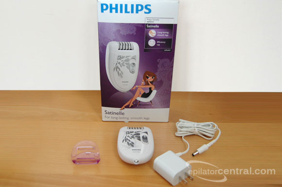 Philips HP6401 Satinelle Soft Unboxing