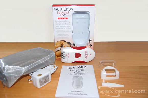 Epilady EP-810-33A Legend 4 Epilator Review