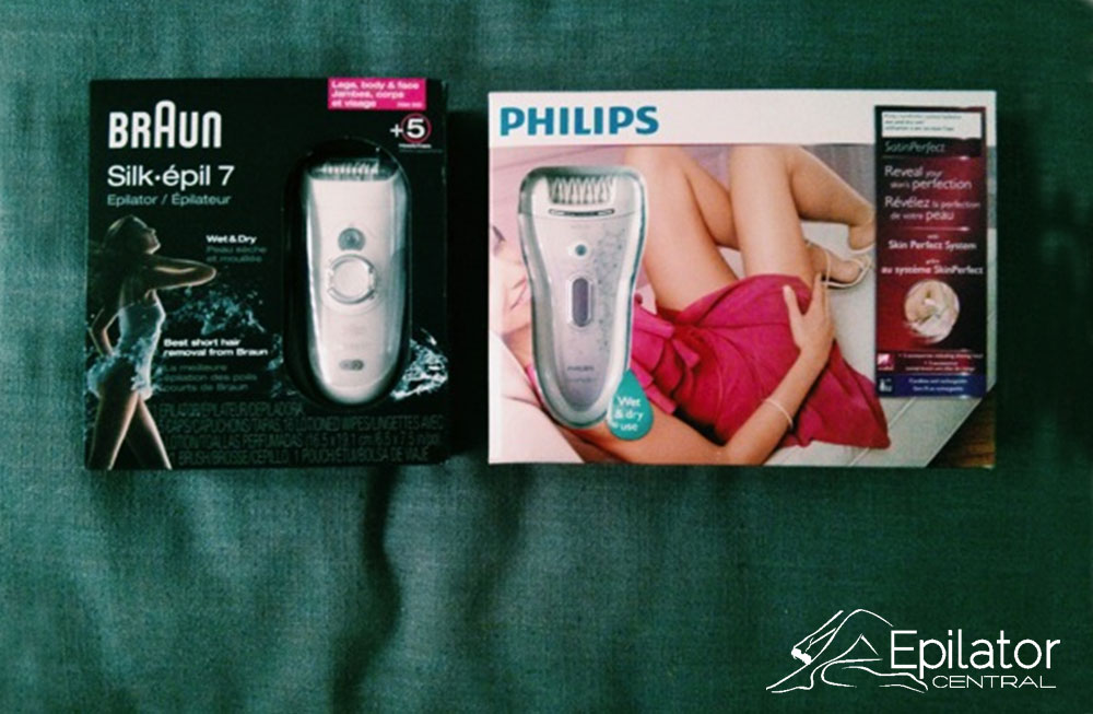 Braun VS Philips EPilator