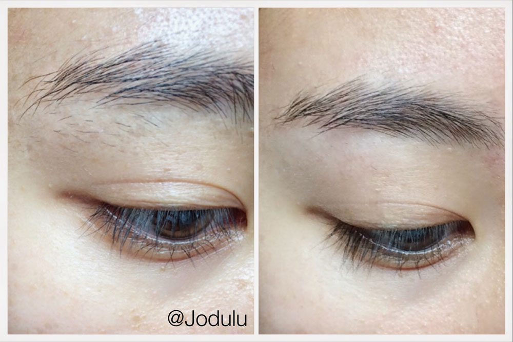using Braun Face on eyebrows